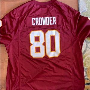 Jamison Crowder NFL Redskins Jersey